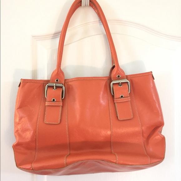 c1106d09aad3 Hype Handbags - EUC HYPE orange leather purse